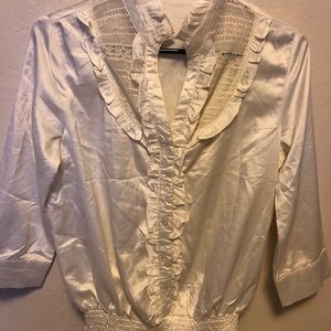 Forever 21 Shiny Blouse